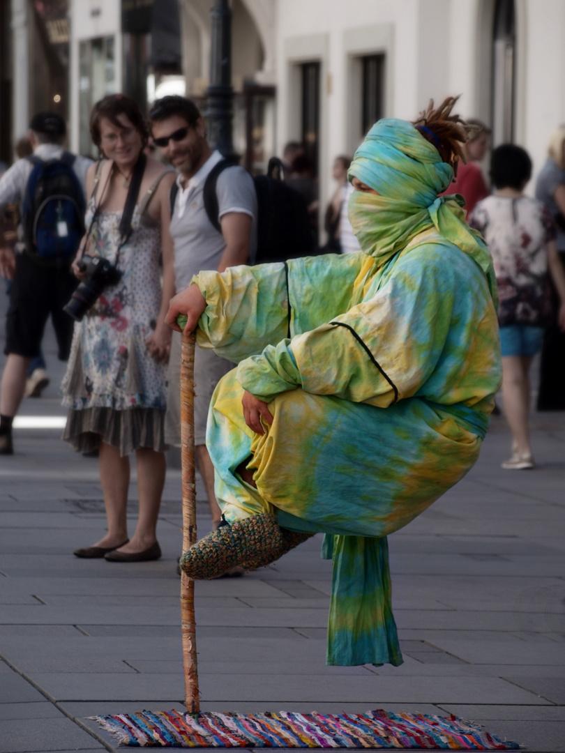 Straßenkünstler in Wien