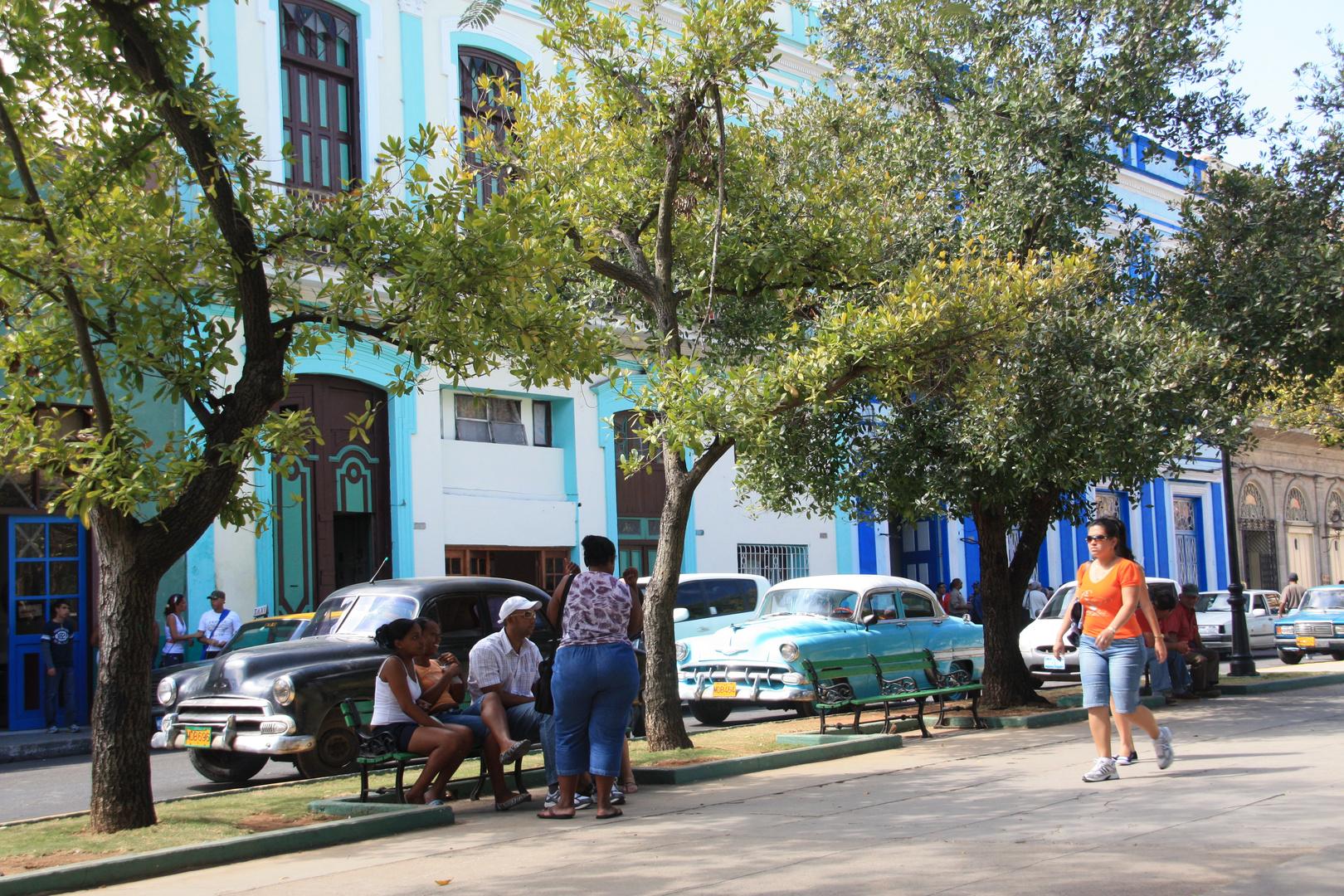 Straßenleben in Havanna
