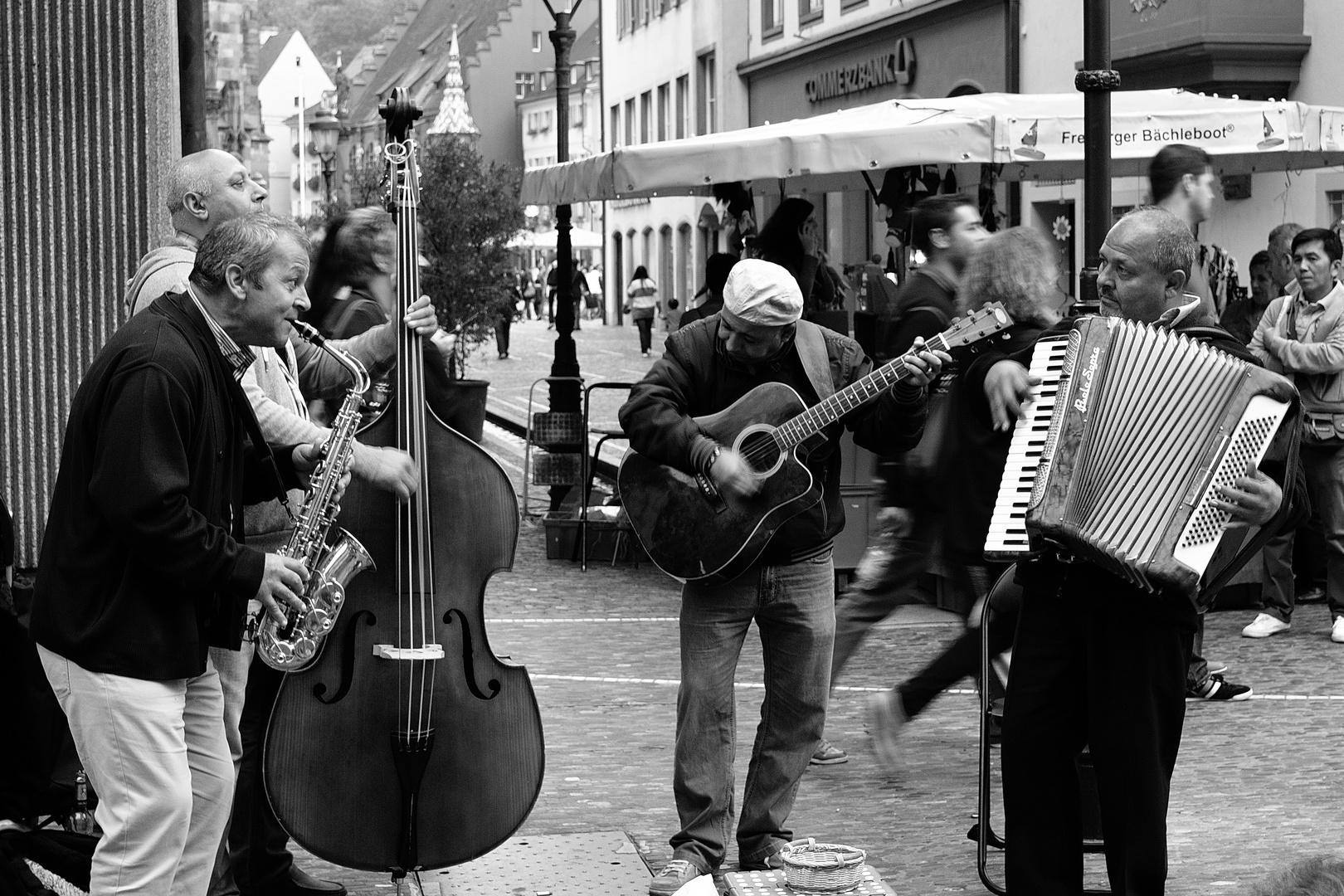 Straßenmusik ist doch was schönes