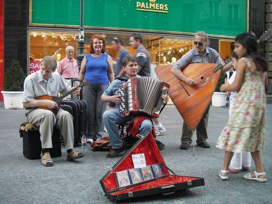 Strassenmusik Wien