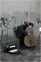 Straßenmusikant...