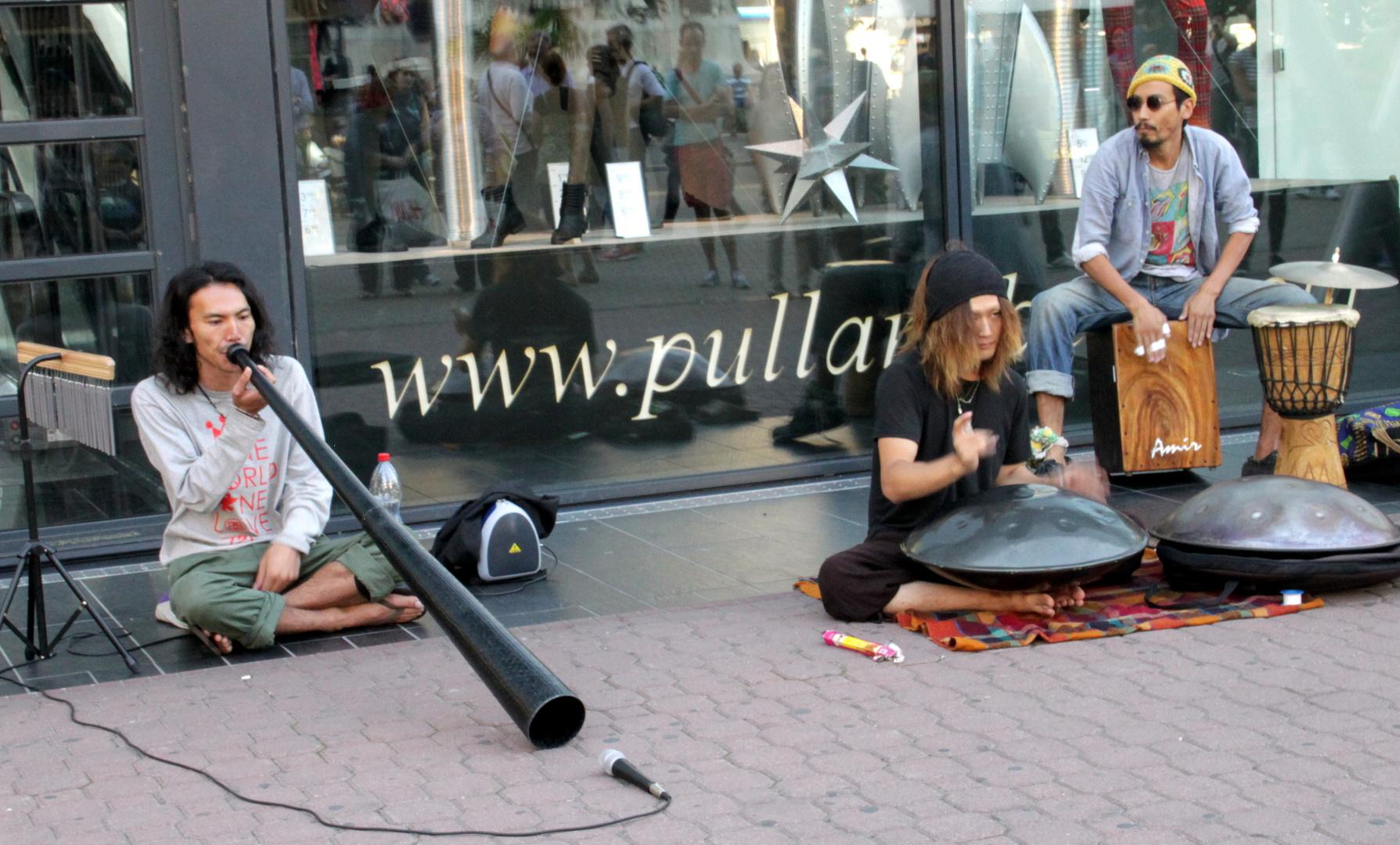 Straßenmusikanten