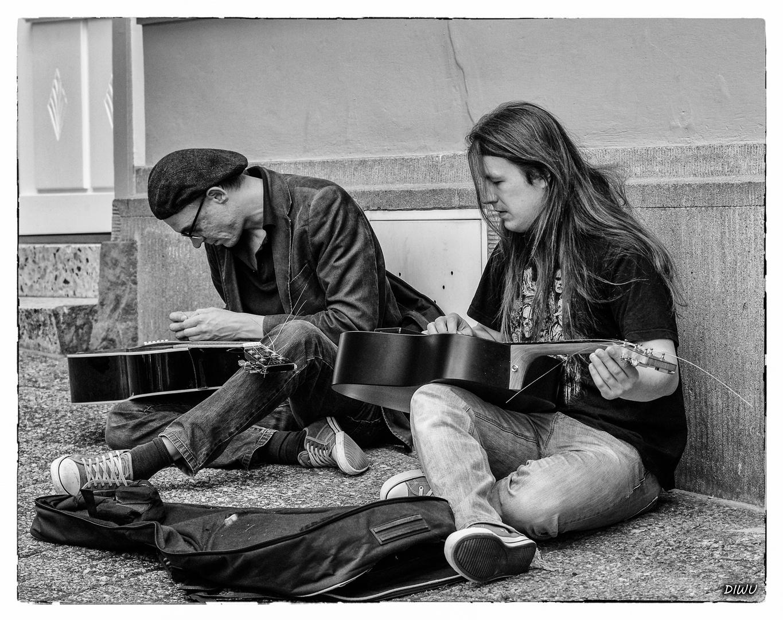 Straßenmusikanten - sch... Technik
