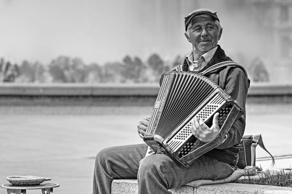 Straßenmusiker (2.Variante)