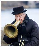 Straßenmusiker auf der Prager Karlsbrücke
