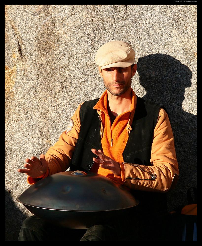 Straßenmusiker (Februar 08/ Freiburg)