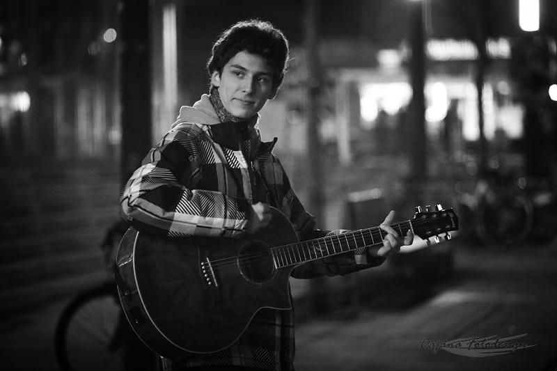 Straßenmusiker Hannes Seiffert