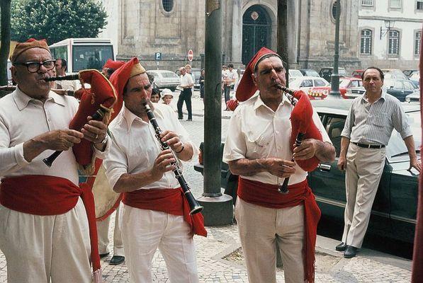 Strassenmusiker in Braga