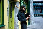 Strassenmusiker in Galway
