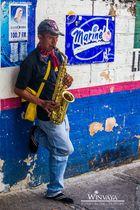 Straßenmusiker in Puerto Vallarta
