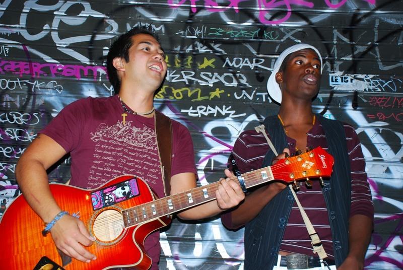 Strassenmusiker Paris