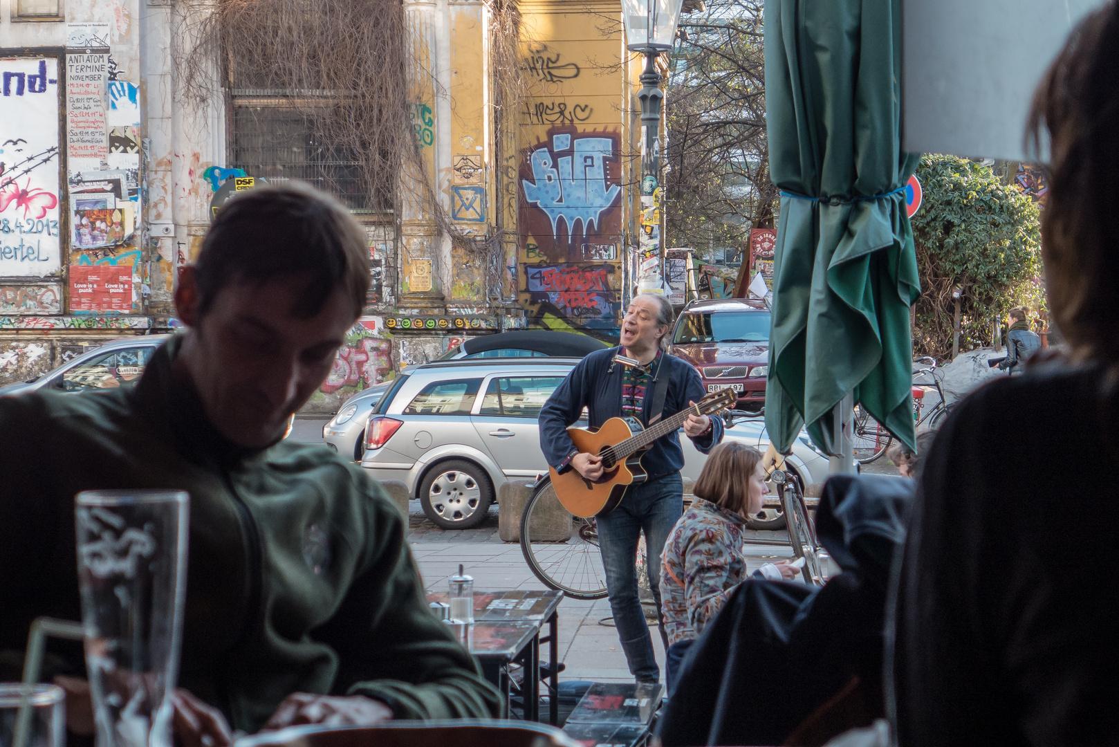 Straßenmusiker, St. Pauli