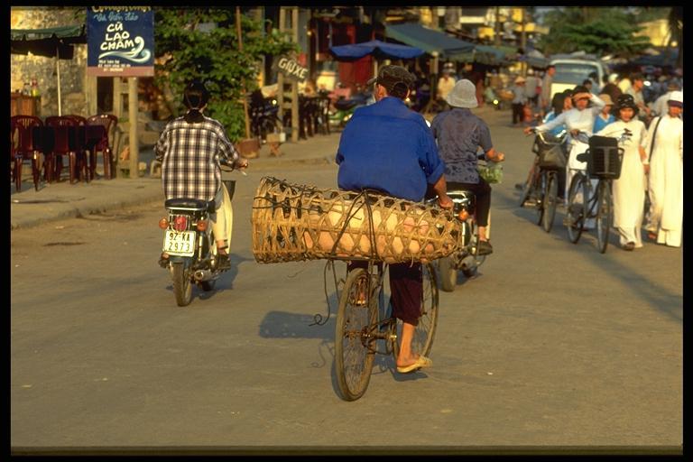 Straßenscene in Hoi An