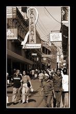 Straßenscene in Santiago de Cuba