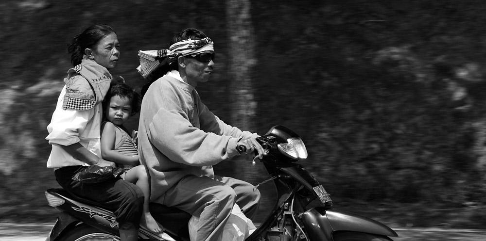 Strassensicherheit auf Bali