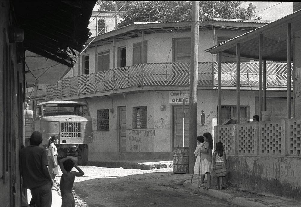 Straßenszene 1984