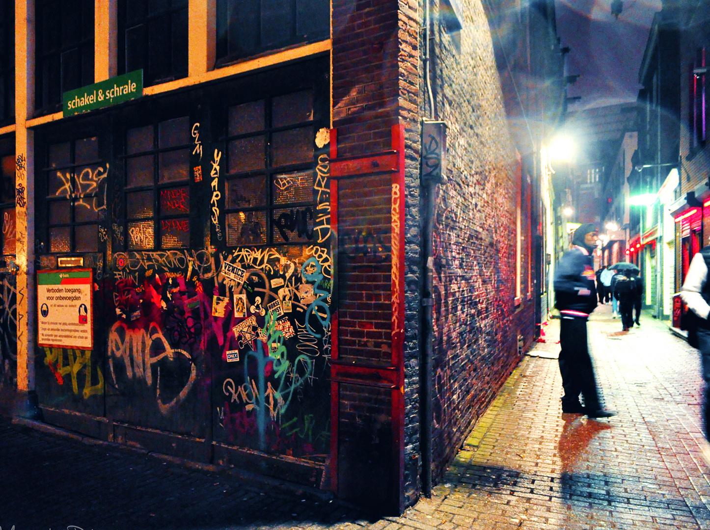 Straßenszene Amsterdam