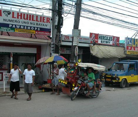 Strassenszene aus Cebu