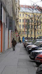 Strassenszene, Gumpendorferstrasse in Wien