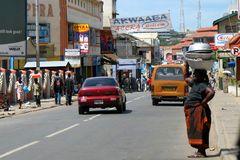 Strassenszene in Accra Ghana