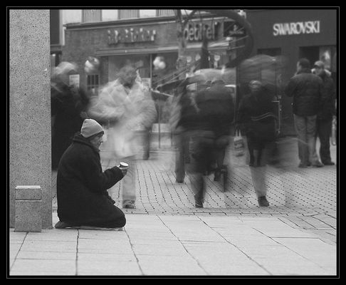 Straßenszene in Bielefeld -1-