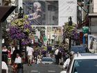 Straßenszene in Cannes