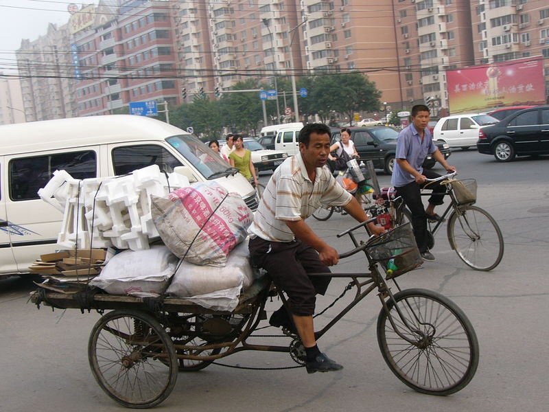 Straßenszene in China 3