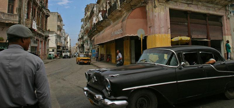 Strassenszene in Havannah