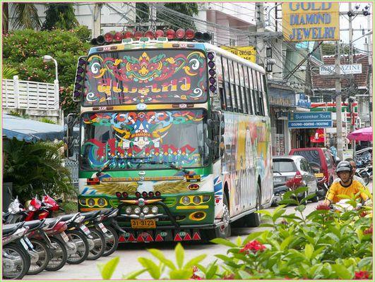 Straßenszene in Hua Hin