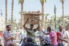 Straßenszene in Kairo