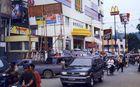 Straßenszene in Samarinda