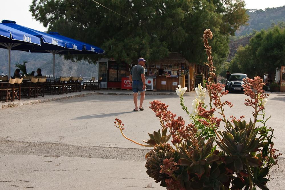 Strassenszene in Sougia