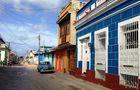 Straßenszene in Trinidad - Kuba
