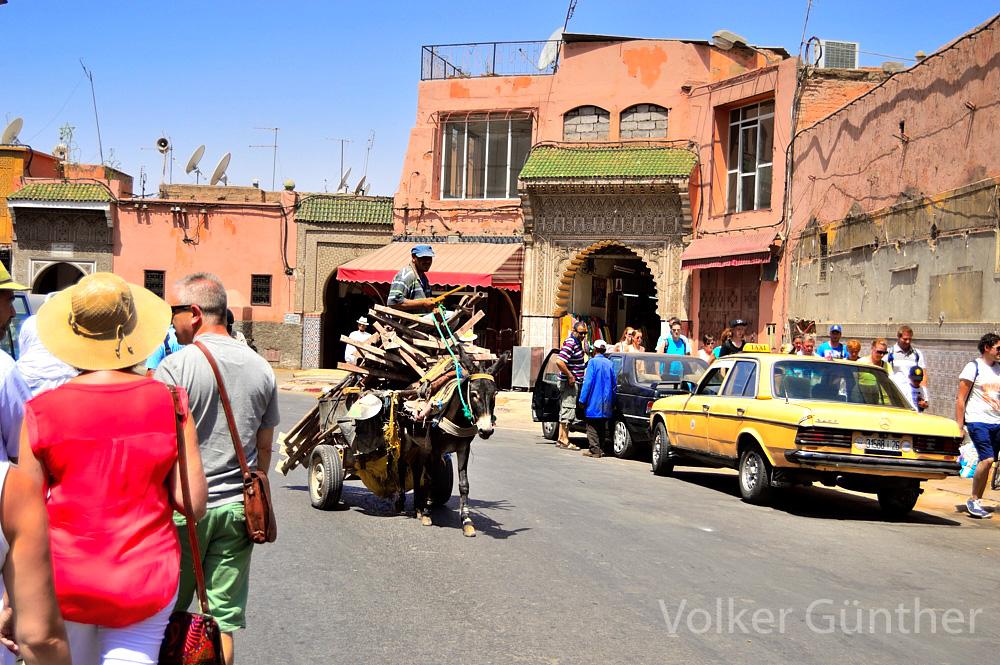 Straßenszene Marokko Marrakesch Foto & Bild   africa, morocco, north ...