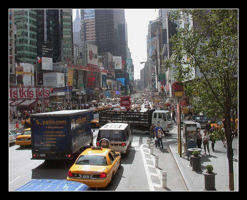 Strassenszene New York