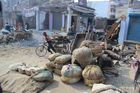 Straßenszene Patna Nordindien