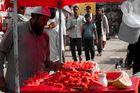 Straßenverkäufer in Indien