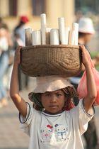 Strassenverkäuferin Cambodia 2