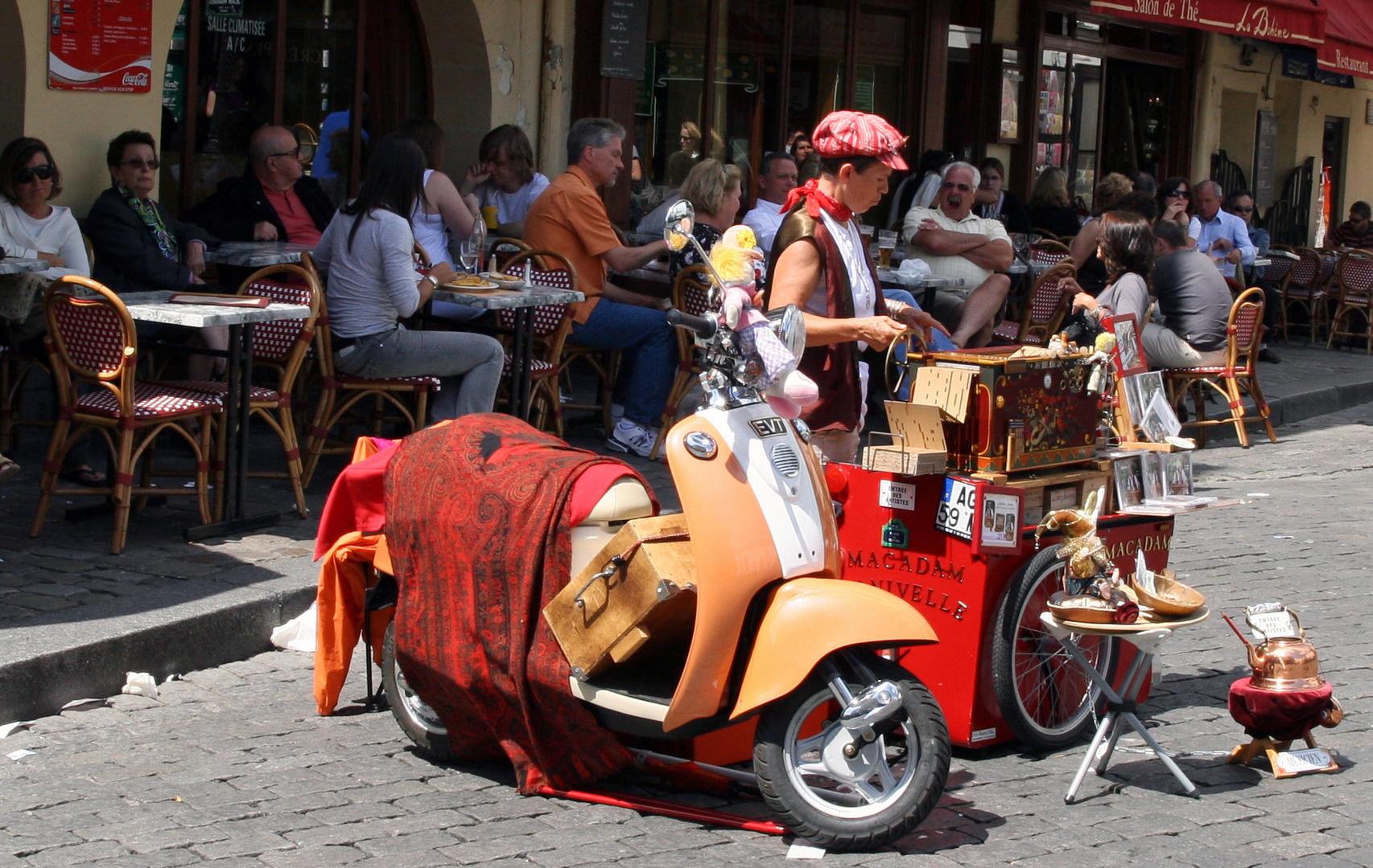 Straßenverkauf am Montmartre