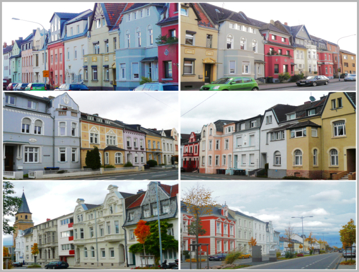 >>> Straßenzüge in der über 700 Jahre alten Stadt Euskirchen