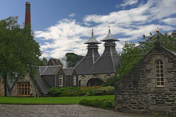 Strathisla Destillery in Schottland