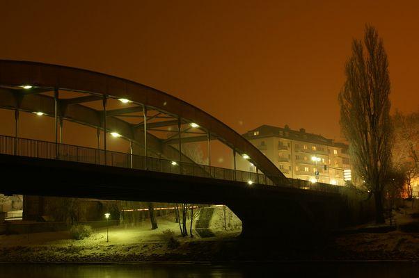 Straubing bei Nacht