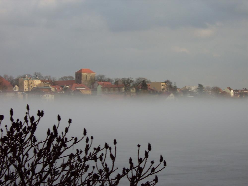 Strausberg im Nebel März 2006