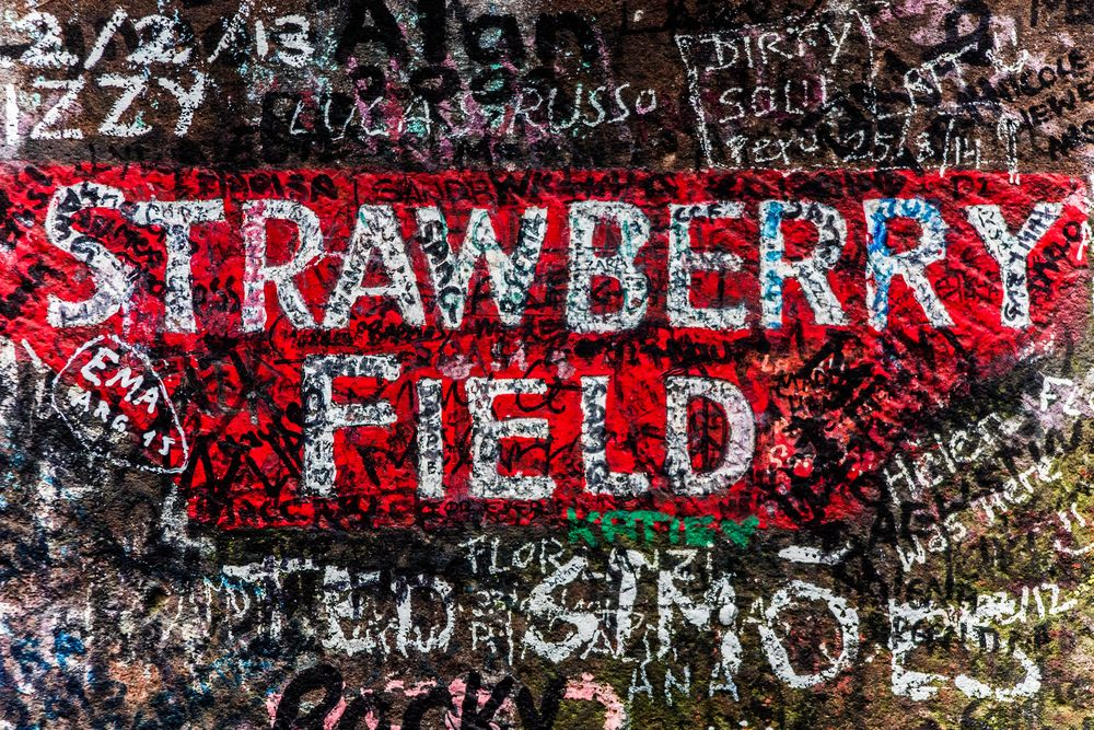 strawberry field, liverpool, united kingdom