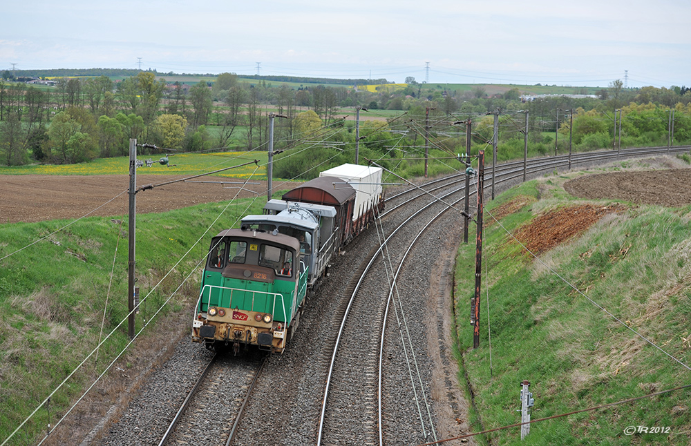 Streckenpflege á la SNCF