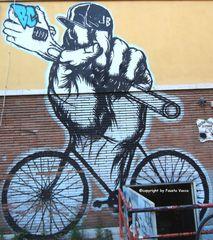 street art a Garbatella...