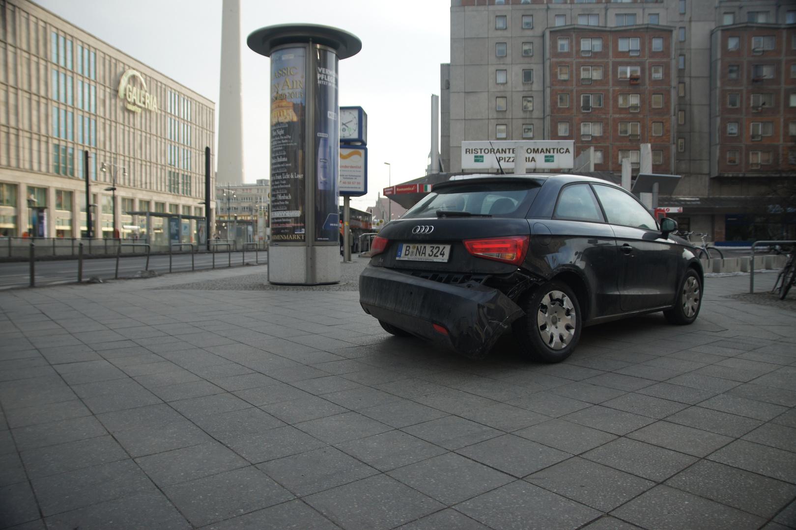 Street ART Audi