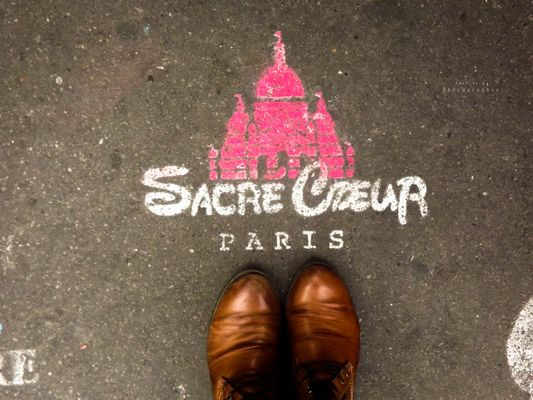 Street art de Montmartre