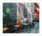 Street Art débridé rue Dénoyez