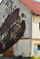 Street Art im Kloster